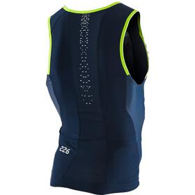 ORCA 226 Perform Top triathlonowy bez rękawów Mężczyźni, blue green